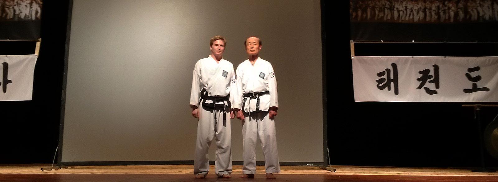 Ein Schüler und sein Meister